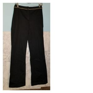 LOFT Stretch Navy Blue Pants Size 4 Trousers